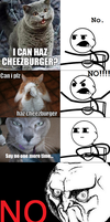 Cereal Guy - No Cheezburger by INF3CT3D-D3M0N