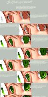 eye tutorial. by goofyball