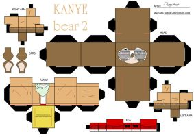 Kanye Bear 2 by Cubee-acres