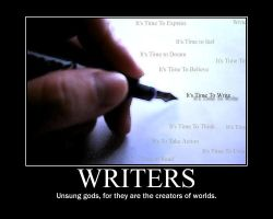 Writers by CrescentMoonDemon