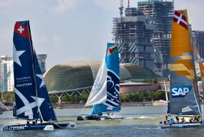 Extreme Sailing Series - Singapore by TomFawls
