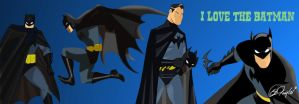 I Love the Batman by Des Taylor by DESPOP