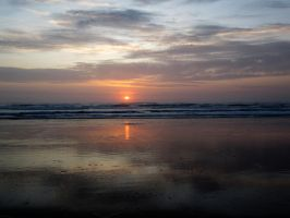 Beach Sunset 3 -- Sept 2009 by pricecw-stock
