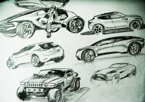 SUV concepts by akkigreat