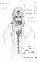 arabian sketch by HuntingTown