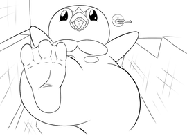 Giant Piplup by saber-th