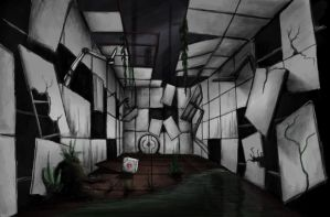 Portal 2 - testchamber by Nightcloud26