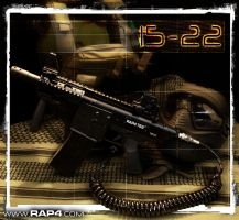 T68 15-22 Paintball Marker by RealActionPaintball