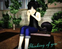 ::Thinking of you:: by KaylaChan92