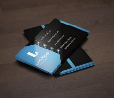SLEEK CORPORATE BUSINESS CARD by ngeshlew