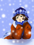 Winter Smile ENTRY by HanaTenshiHimeko
