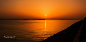 sunset 2 by A-Mohsen
