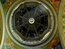 Cathedral Basilica-ceiling by HeretyczkaA