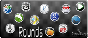 """Rounds"" Mobile App Icons by SeriouslyCrazy2"