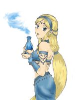 Genie girl for Pura by child-of-the-stars