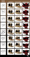 Krookodilian Expressions by BlackRayquaza1