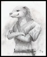 Temiree the Otter by Temiree