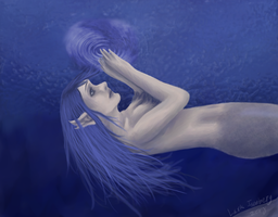 Just beneath the surface by 7AirGoddess3