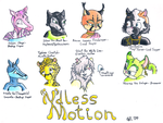 Ndless Motion Faces in Color by VioletWhirlwind