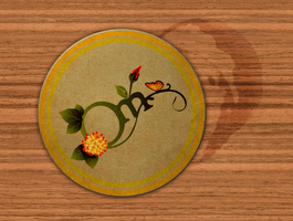 Organic Mixology Coaster by handslikeice