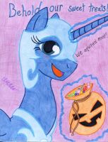 Princess Luna as Nightmare Moon by The1King