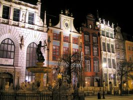 Gdansk By Night by CitizenFresh