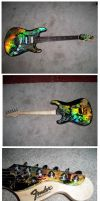 Holoflash Fender Stratocaster by Fusillade-Design