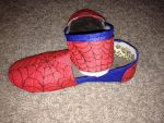 The Amazing Spider-Shoes by falconstreaker