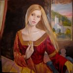 Lady of Shalott wip by dashinvaine
