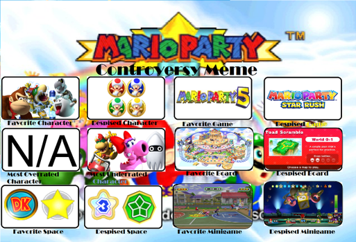 Mario Party Controversy Meme by KingBilly97