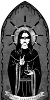 Saint Euronymous by nightshade-art