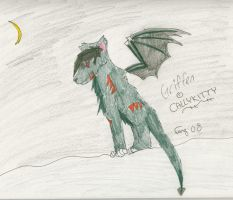 Griffen for Callykitty by Lunardustmoon