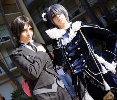 Sebastian and Ciel by TheFigureBro
