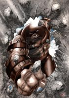 Juggernaut by Hughes by chris-foreman