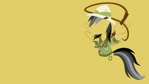 Daring Do Minimalistic Wallpaper by Kitana-Coldfire