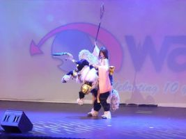 Yuna and Ixion Cosplay Waicon 2014 by GunnerYunie