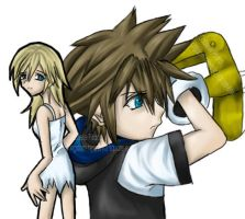 kh- namine and sora by lovesoraxx