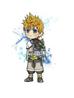 Chibitized Ventus by VanillaKeyblade