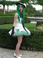 My Gumi cosplay ( camellia version ) by SarahShirabuki8000