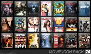 Movie Icon Pack 79 by FirstLine1