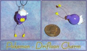 Pokemon - Drifloon Charm by YellerCrakka