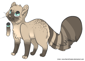 Sparkle cat - point adoptable CLOSED by borzoi-lover-adopts