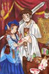 The Healer's Tent by Merry-Muse