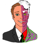 Two-Face by TheSimpsonsFanGirl