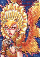ACEO Phoenix Rising by shidonii