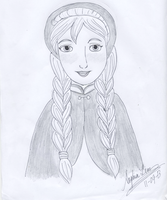 Anna (for Disney's Frozen Style Collab) by GracefulTatiana1897