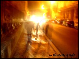 in the streets of light... by frunklo