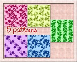 patterns-flower by CocoBucciarati