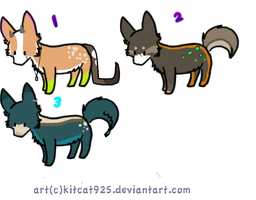 Adoptables batch 1 OPEN by DoeButts