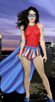The JSA Miss America by DaswookofHeromorph